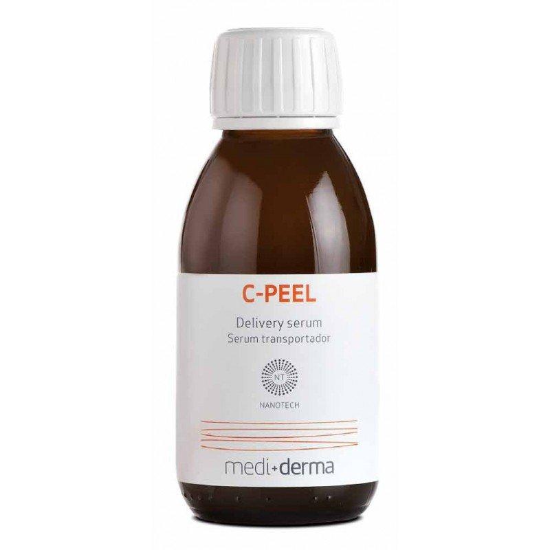 LeDerme medical skincare center C- PEEL (MEDIDERMA) · Vitamina C. Ácido hialurónico. Extracto de morera. Palmitoil tripéptido-3 (Syn-Coll®). Pantenol  peeling quimico