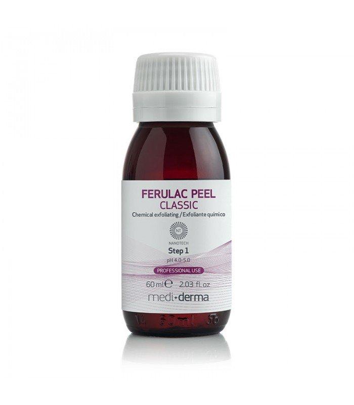 LeDerme medical skincare center MediDerma FERULAC  PEEL peeling quimico